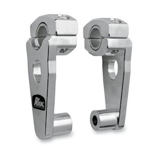 """Rox Elite Pivot Risers for 7/8"""" or 1 1/8"""" Handlebars Aluminum / 3 1/2"""" Rise [Previously Installed]"""