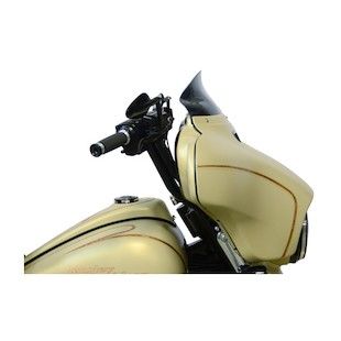 """Klock Werks Flare Windshield For Harley Touring 2014-2017 Black / 5"""" Tall [Previously Installed]"""