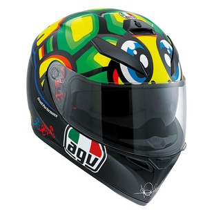 AGV K3 SV Tartaruga Helmet Black/Green / XL [Demo - Good]