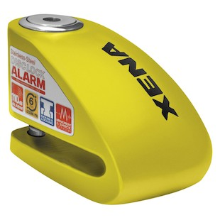 Xena XX-6 Disc Lock with Alarm Yellow [Blemished - Very Good]