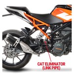 LeoVince Cat Eliminating Mid-Pipe KTM RC390 / 390 Duke 2017