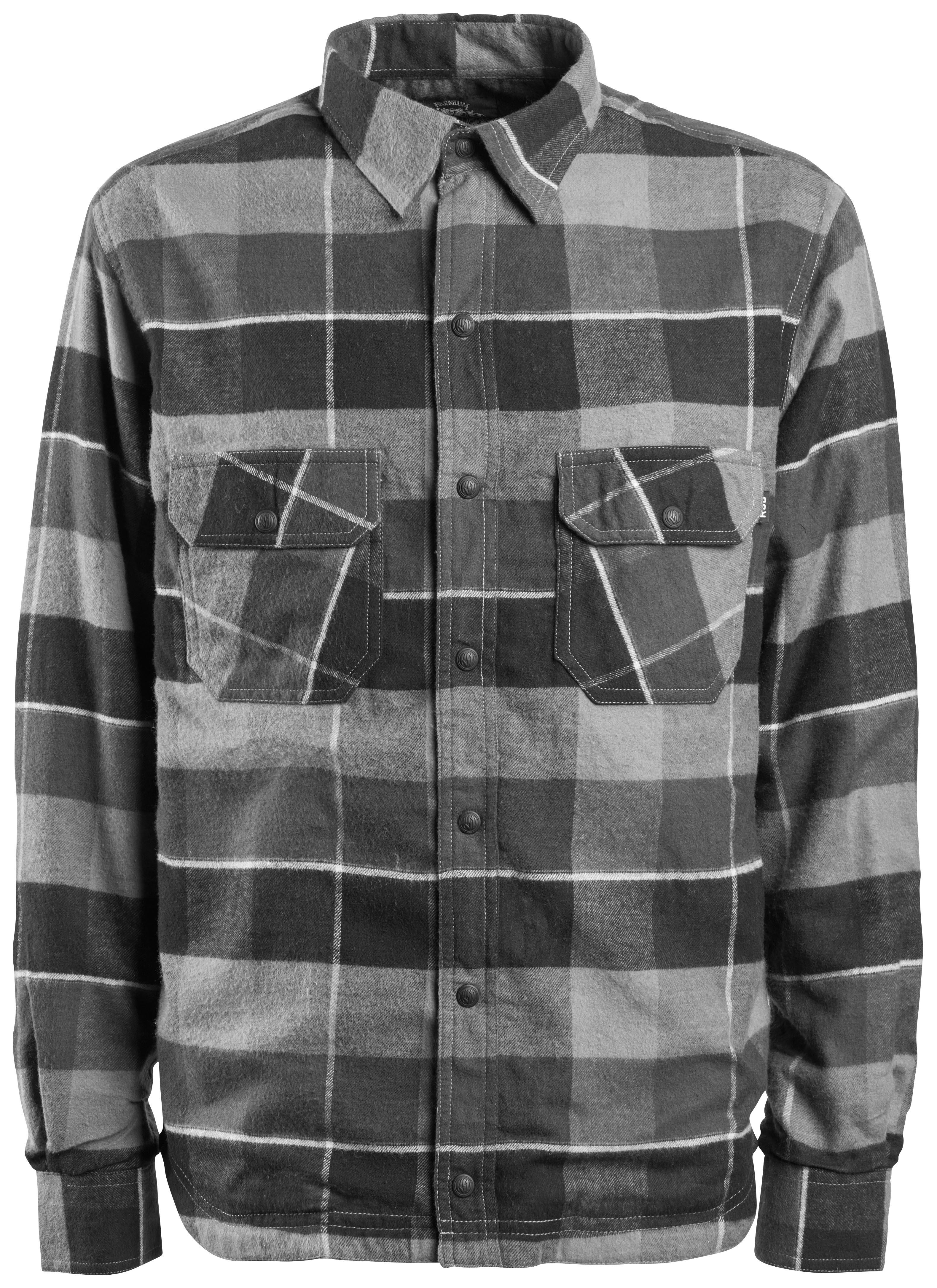 Full Face Cruiser Helmets >> Roland Sands Gorman Flannel Shirt - RevZilla