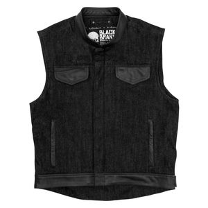 Black Brand Denim Vest [ Sz M Only ]