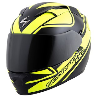 Scorpion EXO-T1200 Freeway Helmet [Neon Yellow Only]