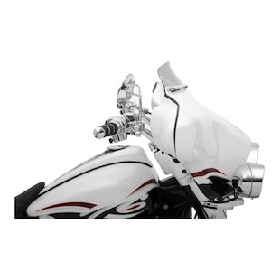 "Klock Werks Flare Windshield For Harley Touring 2014-2017 Dark Smoke / 6.5"" Tall [Previously Installed]"