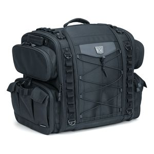 Kuryakyn Momentum Road Warrior Rear Seat Bag