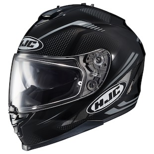 HJC IS-17 Spark Helmet Black/Grey / XL [Blemished - Very Good]
