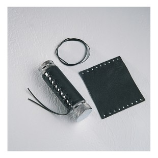 Drag Specialties Leather Grip Covers For Harley