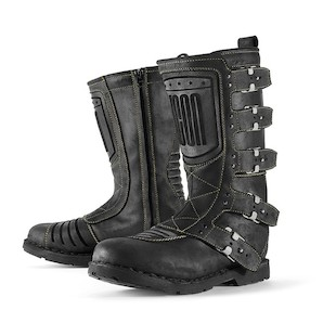 Icon 1000 Elsinore Women's Boots Black / 9.5 [Demo - Good]