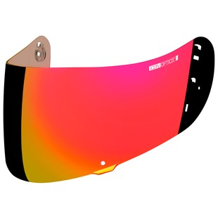 Icon Optics Face Shield RST Red [Demo - Good]