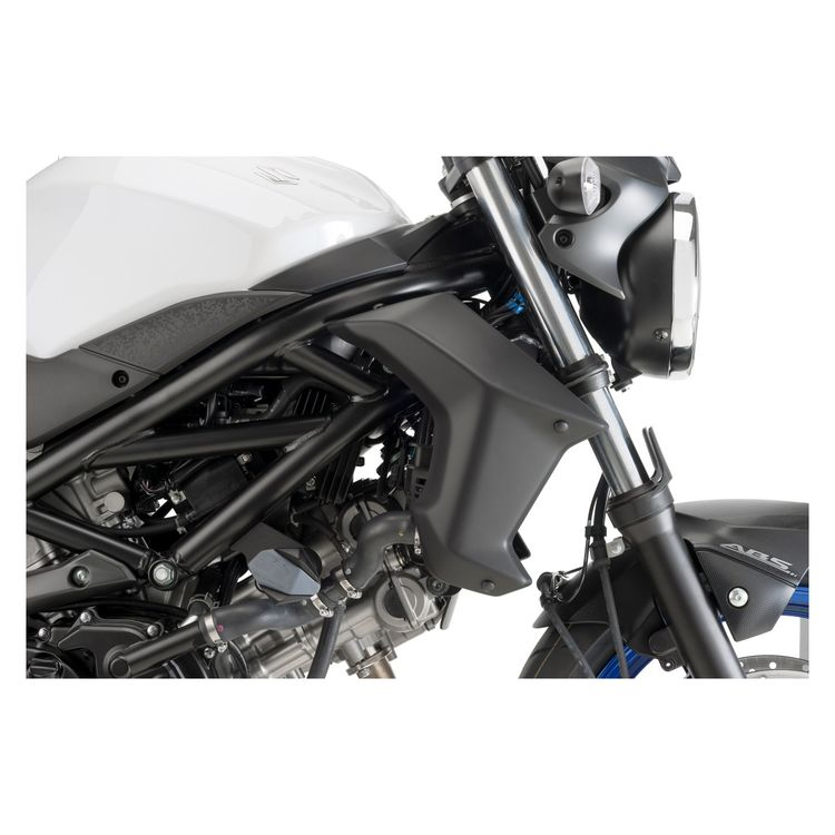 Puig Radiator Side Covers Suzuki SV650 2017-2019 | 5% ($12.22) Off on white sv650, modified sv650, ninja 650r vs sv650,
