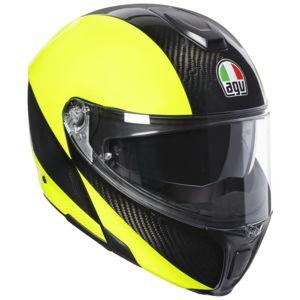 AGV Sportmodular Carbon Hi-Viz Helmet