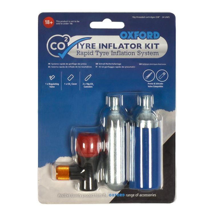 Motorcycle Tire Repair Kit Accessory CO2 Inflator Easy Repair