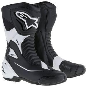 45 Alpinestars Mens SMX-6 V2 Drystar Street Motorcycle Boot Black