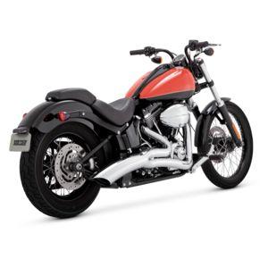 Vance & Hines Big Radius 2-Into-1 Exhaust For Harley Softail 1986-2017
