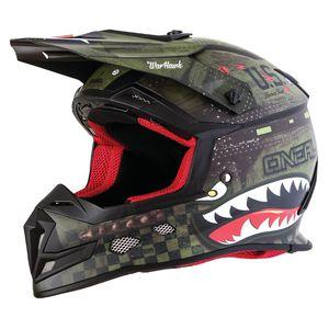 O'Neal 5 Series Warhawk Helmet Black/Green / XL [Open Box]