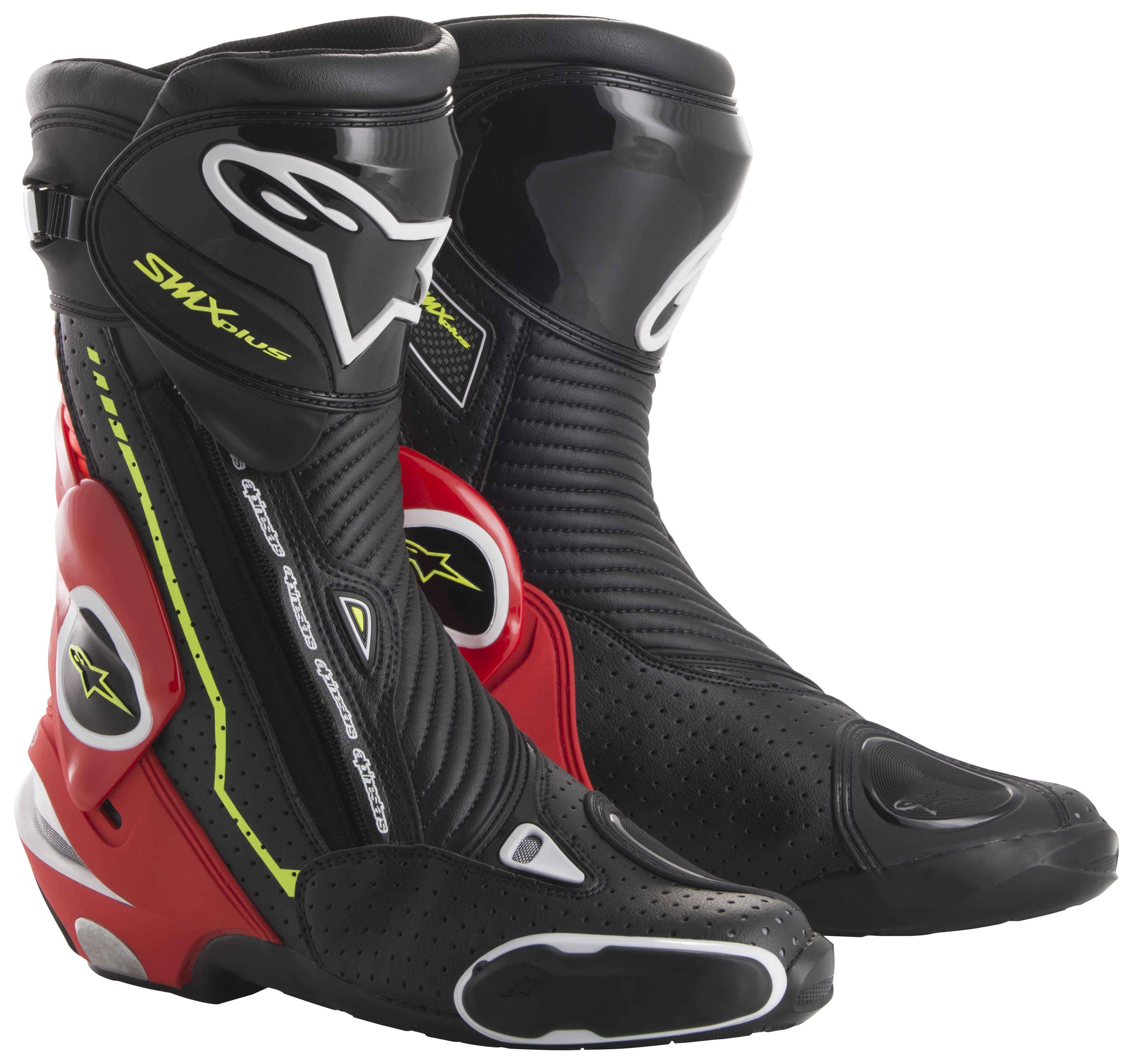 alpinestars smx plus vented boots revzilla