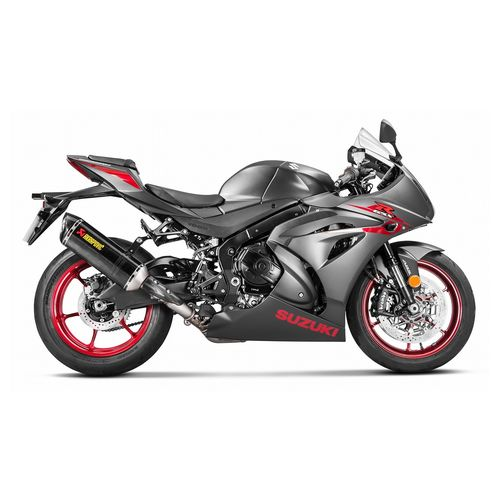 Suzuki GSXR Akrapovic full exhaust and power commander ...