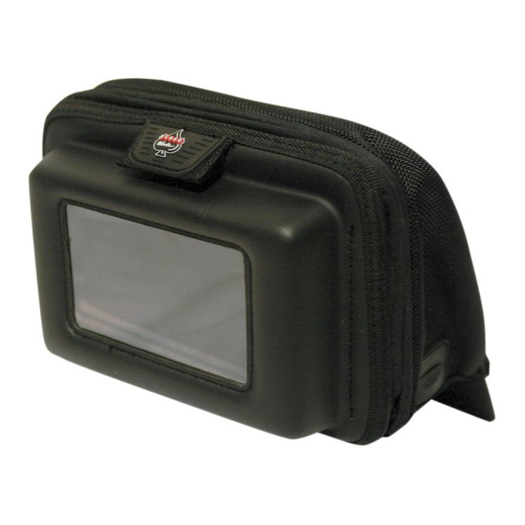 Klock Werks Nav Bag For Harley Street / Electra Glide / Trike 1996-2013 Black [Previously Installed]