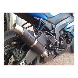 Hotbodies Racing MGP Slip-On Exhaust Kawasaki Ninja ZX6R / ZX636 2009-2019
