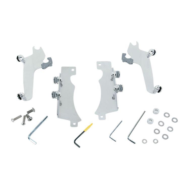 Memphis Shades Metric Sportshield Trigger-Lock Mount Kit Yamaha XV950 V-Star 2009-2015 [Previously Installed]