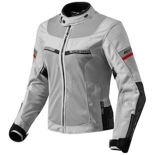 REV'IT! Tornado 2 Women's Jacket Silver/Black / 40 [Demo - Good]