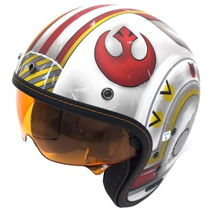HJC IS-5 X-Wing Fighter Pilot Helmet White/Red/Yellow / XS [Demo - Good]