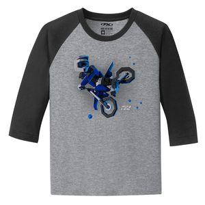 Factory Effex FX Moto Kids Youth Baseball T-Shirt