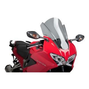 Puig Touring Windscreen Honda VFR800 Interceptor 2014-2015 Smoke [Previously Installed]