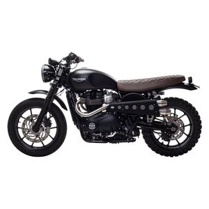 British Customs Slammer Seat Triumph Bonneville Se T100