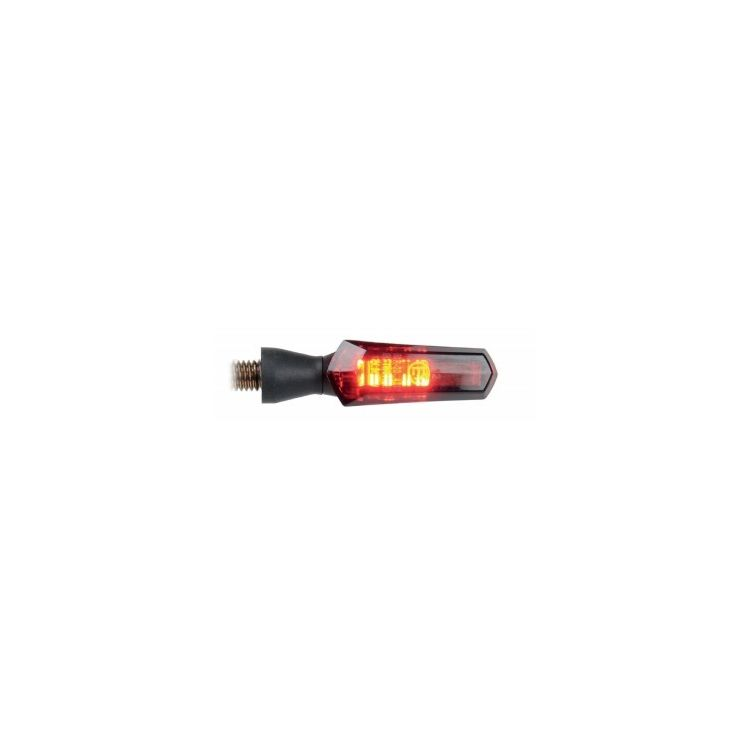 LighTech Integrated LED Turn Signal - Aluminum White/Amber [Open Box]