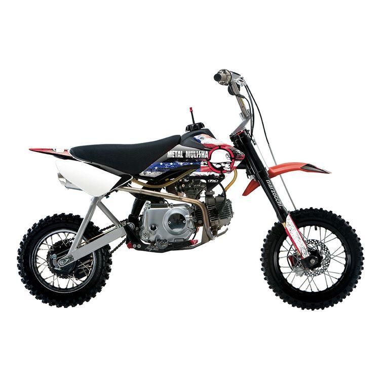 Factory Effex Metal Mulisha Shroud / Airbox Graphics Kit Honda CRF50 2013-2018
