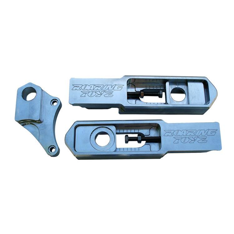 "2001 ZX6R Swingarm Extensions /& 36/"" Brake Line ZX-6R Swingarm Extension"