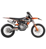 Factory Effex Metal Mulisha Shroud / Airbox Graphics Kit KTM SX / SX-F / EXC / XC 2007-2012