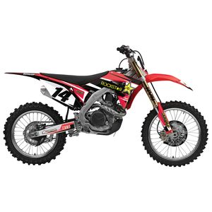 Factory Effex Complete Rockstar Graphics Kit Honda CRF250R / CRF450R 2017-2018