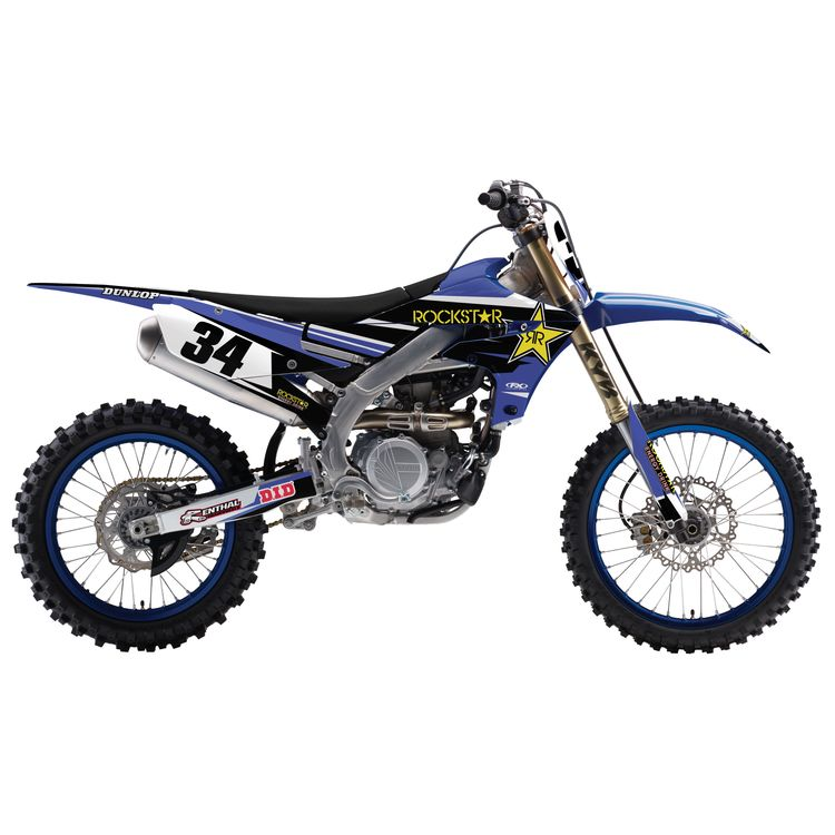 Factory Effex Complete Rockstar Graphics Kit Yamaha YZ125 / YZ250 2006-2007