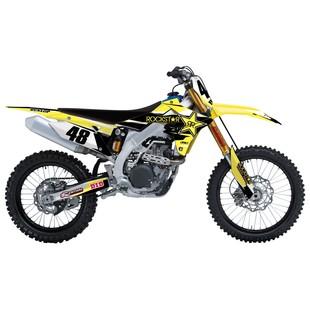 Factory Effex Rockstar Shroud / Airbox Graphics Kit Suzuki RMZ 250 2007-2009