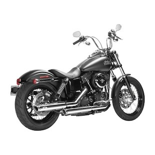 "MagnaFlow Legacy 3"" Slip-On Mufflers For Harley 1992-2018 Chrome [Blemished - Very Good]"