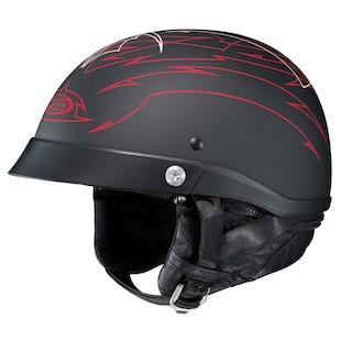 HJC CL-Ironroad Show Boat Helmet Red/Black / LG [Open Box]