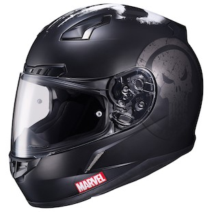 HJC CL-17 Punisher Helmet Matte Black / XL [Open Box]