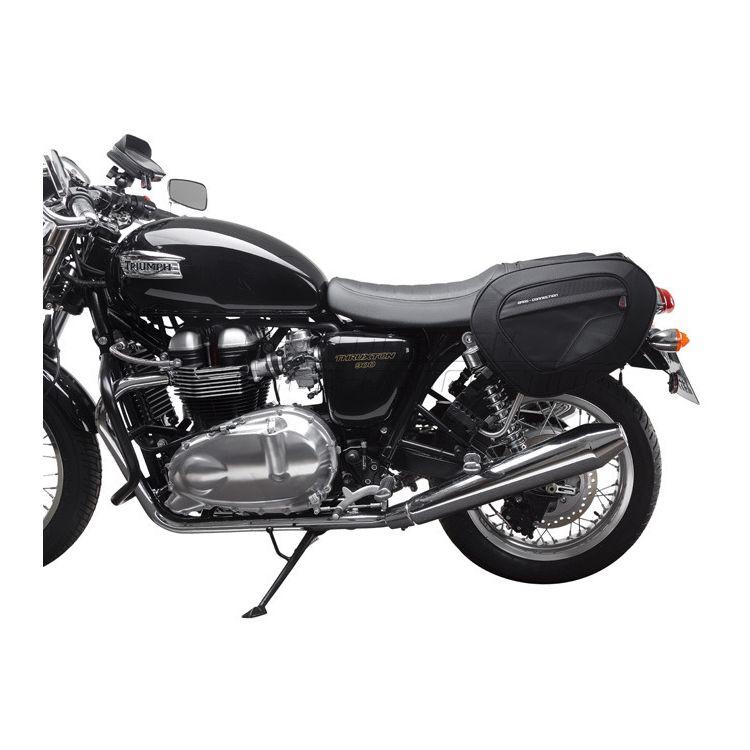 SW-MOTECH Blaze Saddlebag System Triumph Bonneville / Thruxton / T100 / SE 2003-2015 [Previously Installed]