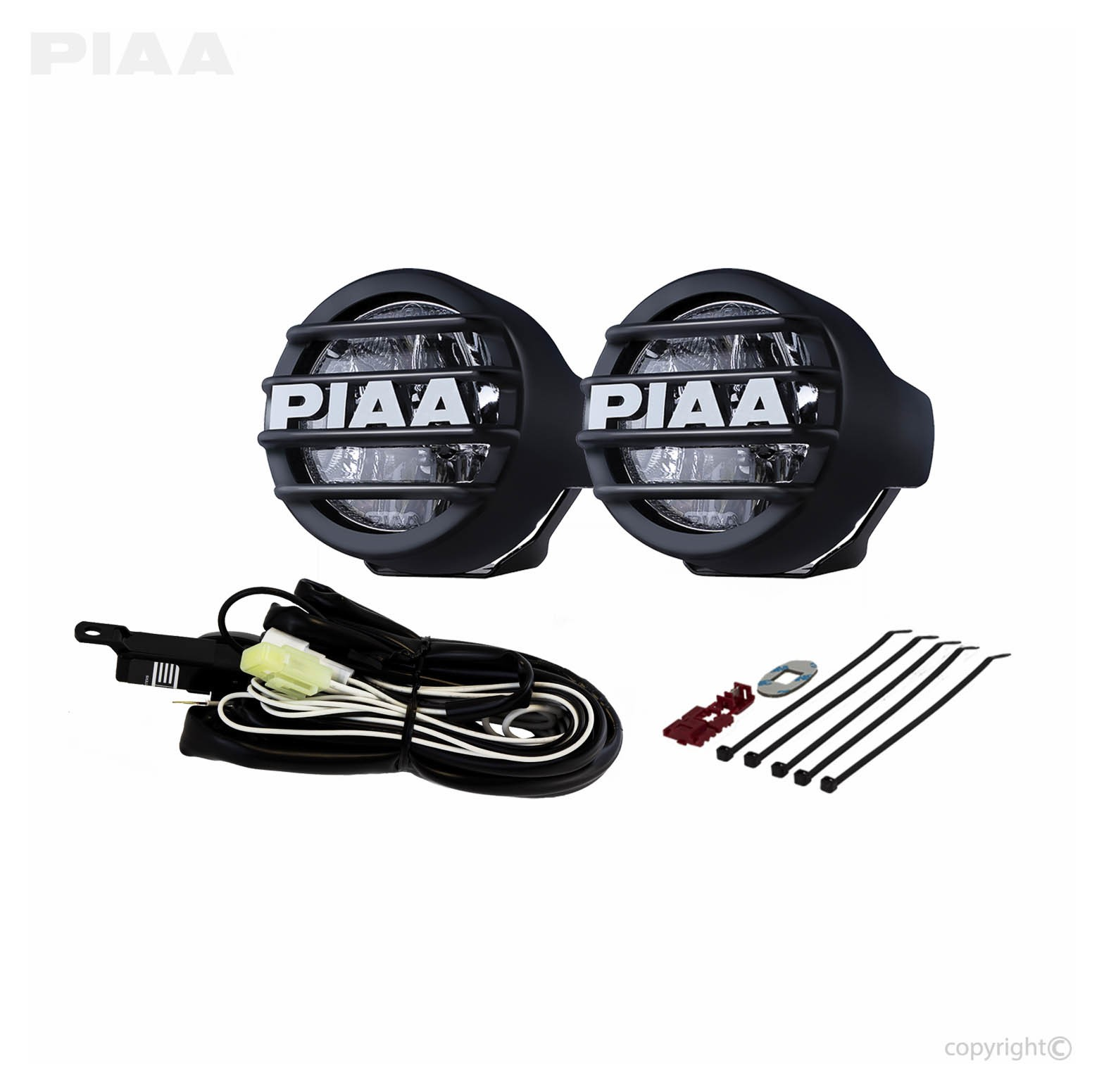 Piaa 540 Wiring Diagram Electrical Diagrams Hiniker Wire Harness Install Motorcycle Lights Diy U2022