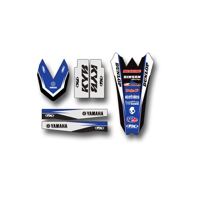 Factory Effex Trim Graphics Kit Yamaha YZ450F 2018