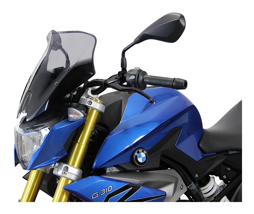 ABS Windscreen Sport For 2016-2018 BMW G310R Light Smoke Fly Screen Windshield