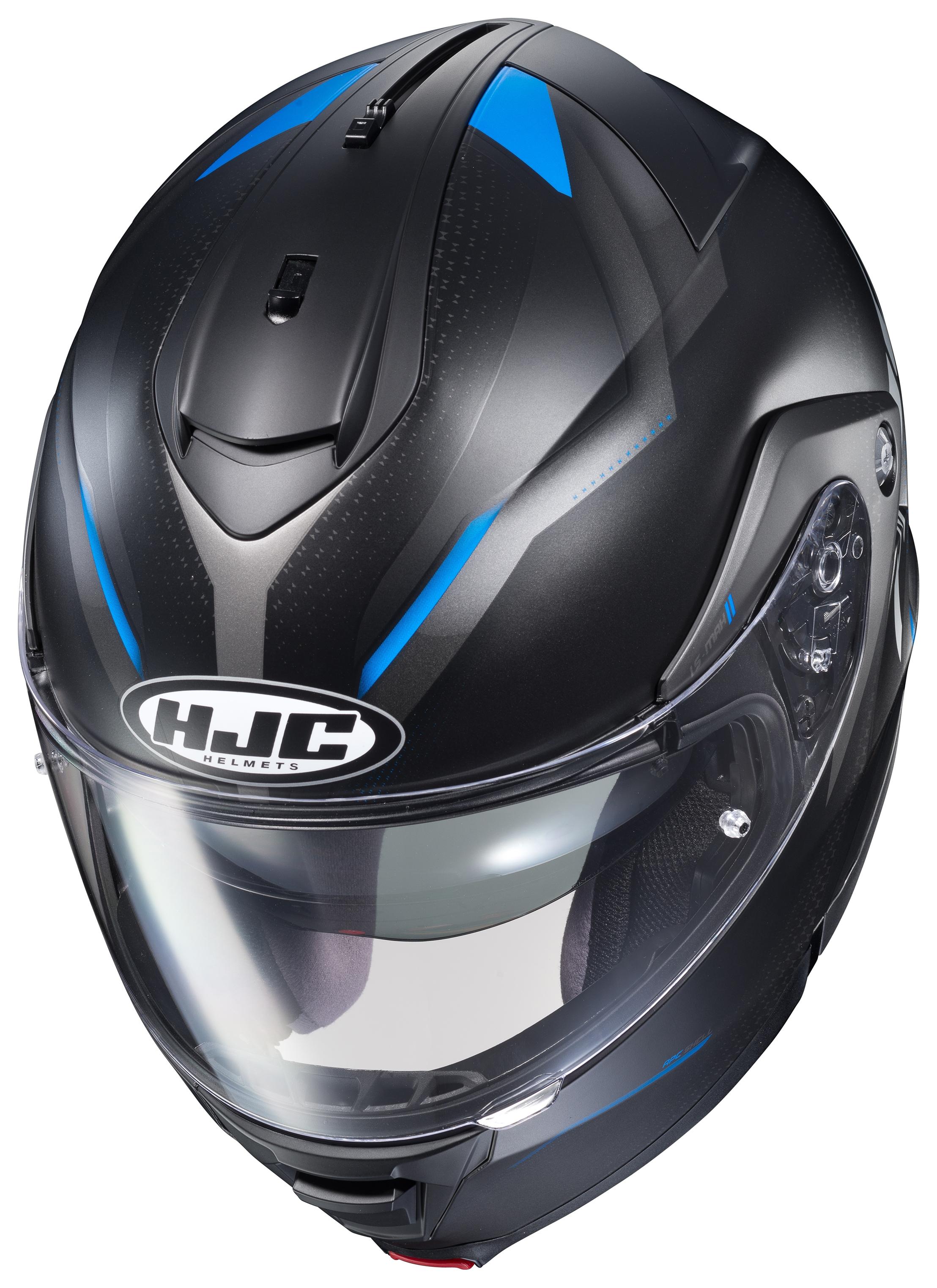 HJC IS-MAX II Mine IS-MAX2 Electric Modular Snowmobile Helmet HI-VIZ XXXXXL 5XL