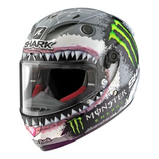Shark Race-R Pro Lorenzo White Shark Limited Edition Helmet