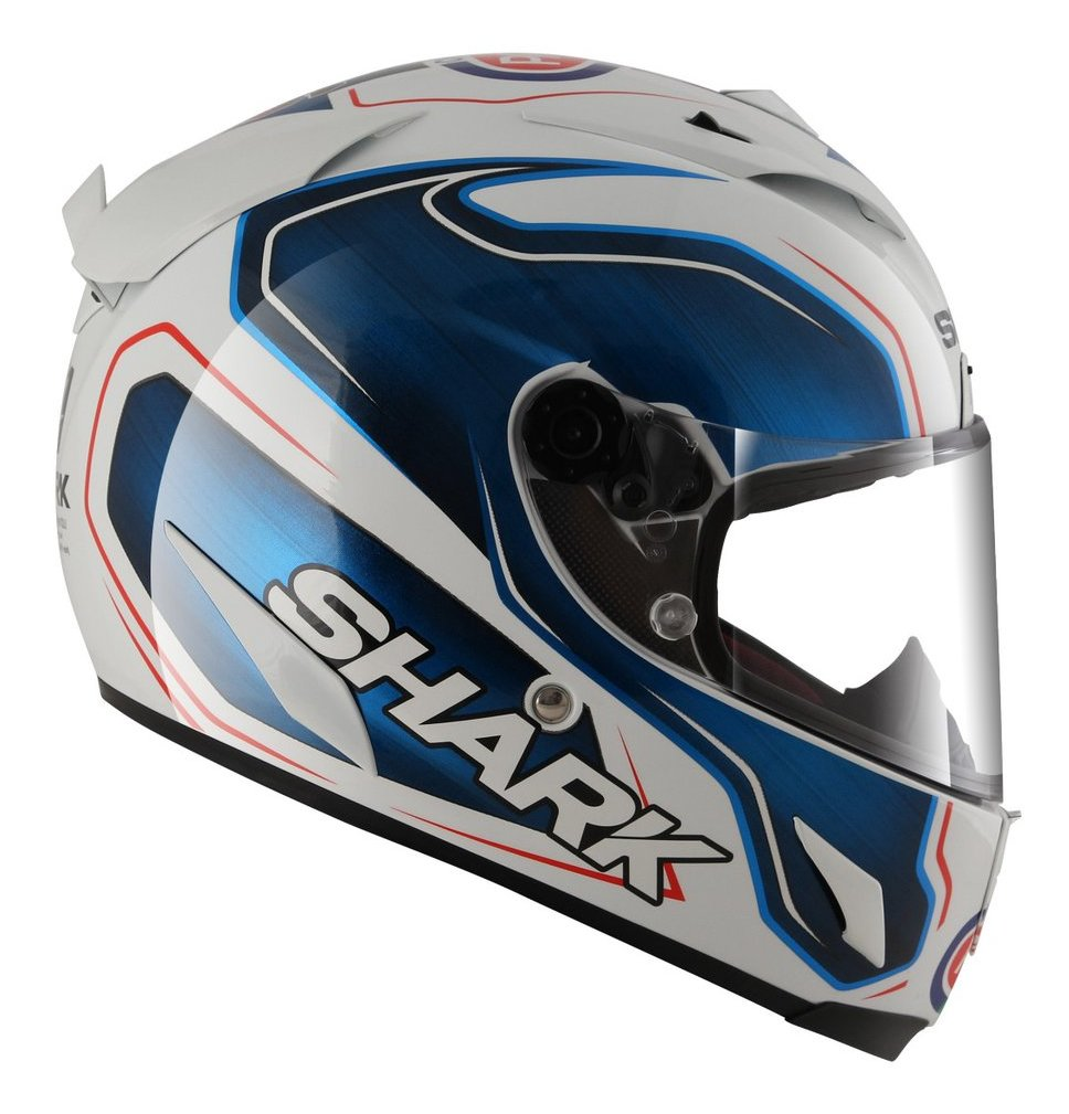 ff3ab8a6e9076 Shark Race-R Pro Guintoli Replica Helmet - RevZilla