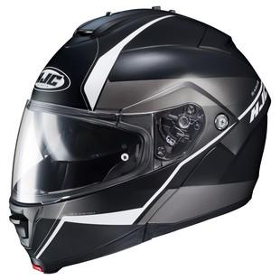 HJC IS-Max 2 Mine Helmet Matte Black/White / 5XL [Open Box]