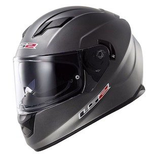 LS2 Stream Helmet Matte Titanium / MD [Open Box]