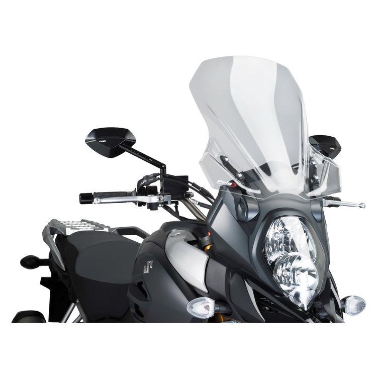 Puig Touring Windscreen Suzuki V Strom 1000 2014 2019 5
